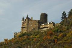 城堡Katz 免版税库存图片