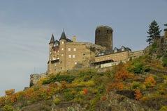 城堡Katz 库存图片