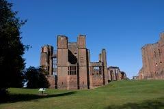 城堡kenilworth 免版税库存照片