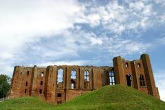 城堡kenilworth 图库摄影