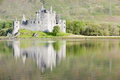 城堡kilchurn 图库摄影