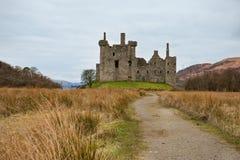 城堡kilchurn 库存照片