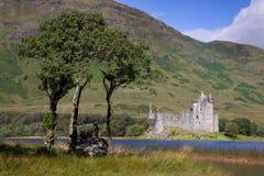 城堡kilchurn 免版税库存图片