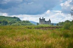 城堡kilchurn 库存图片