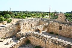 城堡kolossi 库存照片