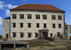 城堡Kounice 库存照片