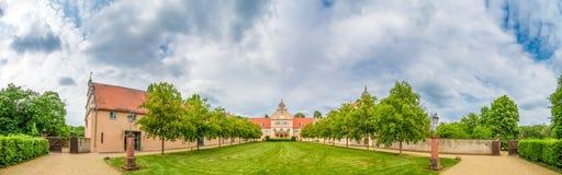 城堡Kranichstein,达姆施塔特 库存图片