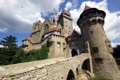 城堡Kreuzenstein 免版税库存图片