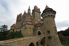 城堡Kreuzenstein 库存照片
