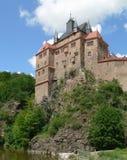城堡kriebstein萨克森 免版税库存照片