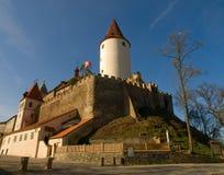 城堡krivoklat 免版税库存照片