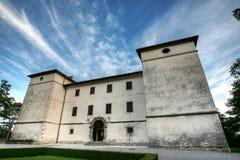 城堡kromberk 库存图片