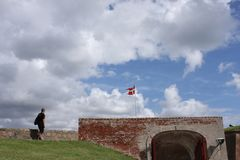 城堡kronborg 免版税库存图片