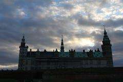 城堡kronborg 图库摄影