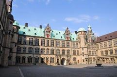 城堡kronborg 免版税图库摄影