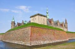城堡kronborg 库存图片