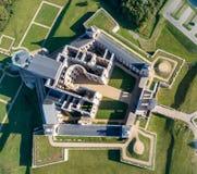 城堡krzyztopor波兰破坏ujazd 图库摄影