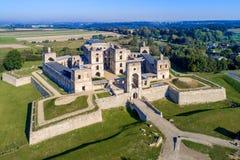 城堡krzyztopor波兰破坏ujazd 免版税库存图片