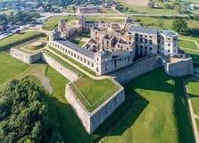 城堡krzyztopor波兰破坏ujazd 库存图片
