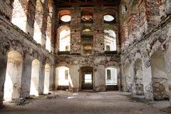 城堡krzyztopor波兰 免版税库存照片