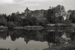城堡krzyztopor波兰 库存照片