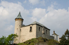 城堡Kutna hora 图库摄影