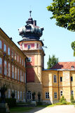 城堡lancut波兰 免版税库存照片