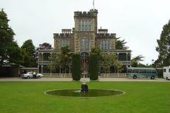 城堡larnach新西兰 图库摄影