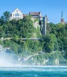城堡Laufen 库存图片