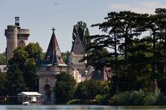 城堡laxenburg 库存图片