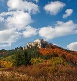 城堡Lietava 免版税库存图片