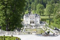 城堡linderhof 库存照片