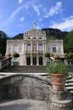 城堡linderhof 免版税库存照片