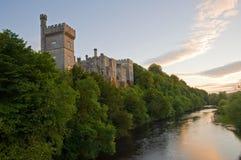 城堡lismore 库存照片