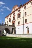 城堡Lnare 库存照片