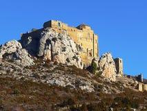 城堡loarre 西班牙 库存图片