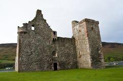 城堡lochranza 免版税图库摄影