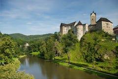 城堡loket 免版税库存照片
