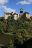城堡loket 免版税库存图片