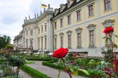 城堡Ludwigsburg在德国 免版税库存图片