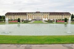 城堡Ludwigsburg在德国 库存图片