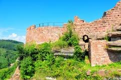 城堡luetzelburg 免版税库存图片