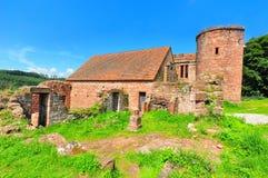 城堡luetzelburg 免版税库存照片