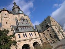 城堡marburg 免版税库存照片