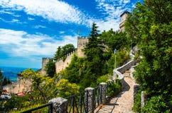 城堡marino圣 免版税库存图片