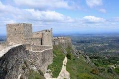 城堡marvao 库存照片