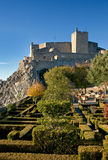 城堡marvao 免版税库存照片