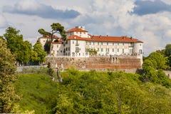 城堡Masino;山麓;意大利;都灵, 图库摄影