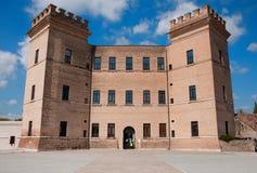 城堡mesola s 库存照片