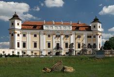 城堡Milotice 库存照片